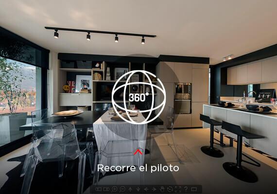 Recorre el piloto - Tour 360º - Edificio Egaña 2