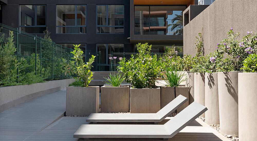 Zonas Comunes - Edificio Somos, Inmobiliaria Exxacon.