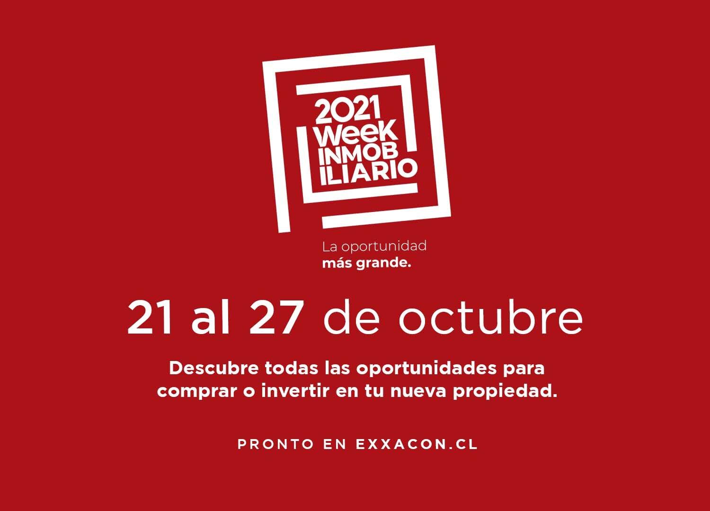 21 al 27 de octubre - Week Inmobiliario 2021